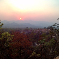 O canyon de Pai: um visual deslumbrante